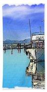 Do-00231 Hvk Boat Gosford Beach Towel