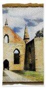 Do-00247 Church At Port Arthur Beach Towel
