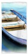 Do-00269 Boat In Killcare Beach Towel