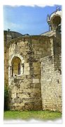 Do-00344 Church Of St John Marcus In Byblos Beach Towel