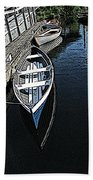 Dockside Quietude Beach Towel
