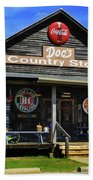 Doc's Country Store Beach Towel