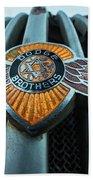 Dodge Brothers Emblem Jerome Az Beach Towel