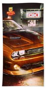 Dodge Challenger R T Beach Towel