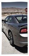 Dodge Charger Srt8 Beach Towel