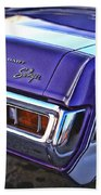 Dodge Dart Swinger Beach Towel