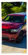 Dodge Durango Srt 2018 Beach Towel