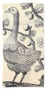 Dodo Bird Rodriguez Solitaire, Extinct Beach Towel