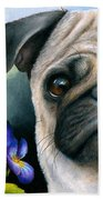 Dog #133 Beach Towel