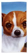 Dog-nature 3 Beach Towel by James W Johnson