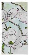 Dogwood Blossoms Beach Towel
