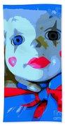 Doll In Blue Beach Towel