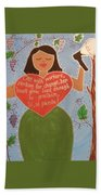 Dolores Huerta Beach Towel