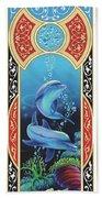 Dolphin Mecca Beach Towel