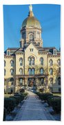 Dome At University Of Notre Dame  Beach Towel