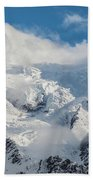 Dome Du Gouter In The Clouds Beach Towel