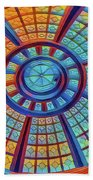 Dome Of Colors Beach Towel