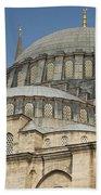 Domes Of Suleymaniye Mosque Beach Towel