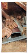 Dominican Cigars Made By Hand Beach Towel
