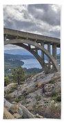 Donner Memorial Bridge Beach Towel