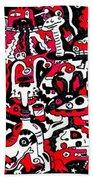 Doodle Beach Towel