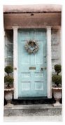 Doors Of Boston Blue Beach Sheet