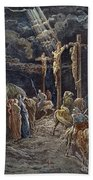 Crucifixion Beach Towel