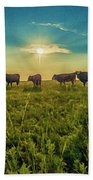 Dornodo Steppe Mongolia Beach Towel