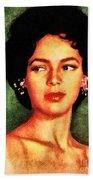 Dorothy Dandridge, Vintage Hollywood Legend Beach Towel
