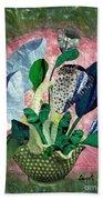 Dot Bouquet Beach Towel