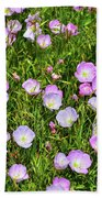 Dotted Meadow Beach Towel