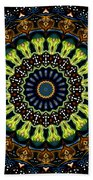 Dotted Wishes No. 3 Kaleidoscope Beach Towel