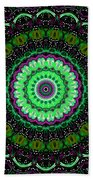 Dotted Wishes No. 6 Kaleidoscope Beach Towel
