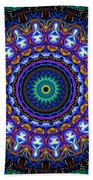 Dotted Wishes No. 7 Kaleidoscope Beach Towel