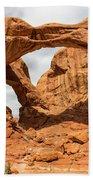 Double Arch - Arches National Park Utah Beach Towel