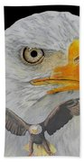 Double Eagle Beach Towel