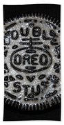 Double Stuff Oreo Beach Towel