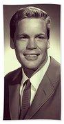 Doug Mcclure, Vintage Actor Beach Towel