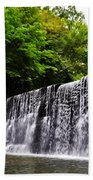 Dove Lake Waterfall Beach Towel