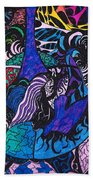 Dove Of  Many Colors Beach Towel