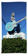 Down At The Crossroads Beach Towel