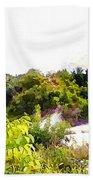Down Hills Beach Towel