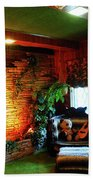 Down In The Jungle Room Beach Towel