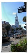 Down Town Charleston Beach Towel