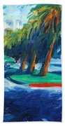 Downhill Beach Towel