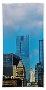 Downtown Chicago Beach Towel