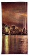 Downtown Manhattan September Eleventh Beach Towel