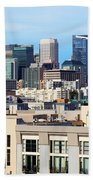 Downtown San Francisco Beach Towel