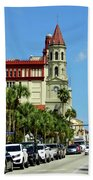 Downtown St Augustine Beach Towel
