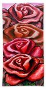 Dozen Roses Beach Towel